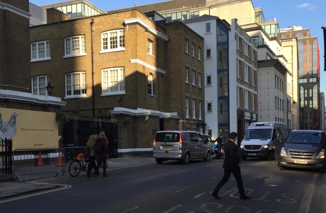 Chiswell Street 24 Feb 2107